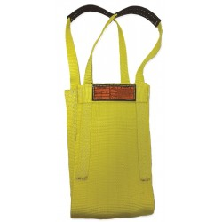 Stren-Flex - LB1-910-20 - 20 ft. Heavy-Duty Nylon Cargo Basket Web Sling, Yellow