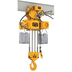 Harrington Hoists - NERP100S-10 - H4 Electric Chain Hoist, 20, 000 lb. Load Capacity, 208/230/460V, 10 ft. Hoist Lift, 11 fpm