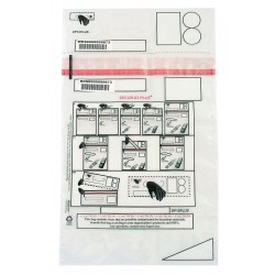 Greenwich Safety - DP12PLUS - Decon Property Bag, 12 x 16 In, PK250