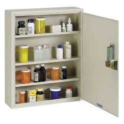 MMF Industries - 2019075S89 - Empty First Aid Cabinet, Sand, Steel