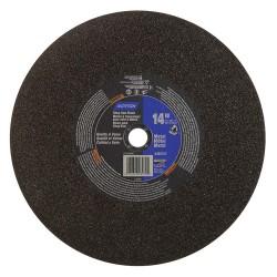 Saint Gobain - 07660703970 - 14 Type 1 Aluminum Oxide Abrasive Cut-Off Wheel, 1 Arbor, 7/64-Thick, 4365 Max. RPM