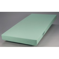 Casco Manufacturing Solutions - H10111 - 76 x 36 x 5 Foam Institutional Mattress, Ocean Blue