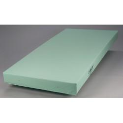 Casco Manufacturing Solutions - H10010 - 80 x 36 x 5 Foam Institutional Mattress, Ocean Blue