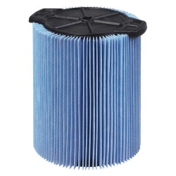 RIDGID - 72952 - Ridgid Blue Fine Dust Filter (For Use With WD0640, WD1250, WD1450, WD1670, WD1851, WD1956, WD7000, RV2400A And RV2600B Vacuums)