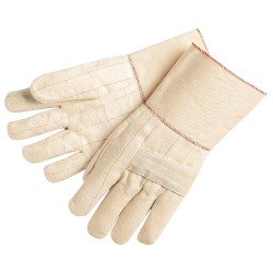 "Memphis Glove - 9124G - 12oz 100% Cotton 4-1/2""gauntlet"