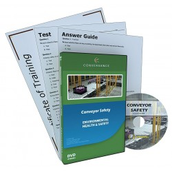 Convergence Training - 408 - Training, Conveyor Safety, DVD, English