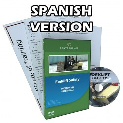Convergence Training - 330ES-US - Training, Forklift Safety, DVD, Spanish