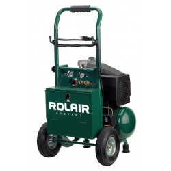 Rolair - VT20TB - 2.0 HP, 115VAC, 3.2 gal. Portable Electric Oil-Lubricated Air Compressor, 125 psi