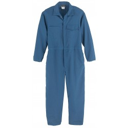 Workrite - 133PO65MB - Protera, Arc Flash Coverall, Size: 2XL Long, Color Family: Blues, Closure Type: Zipper