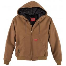 Workrite - 368UT11BR - Flame-Resistant Jacket, Brown, L, UltraSoft