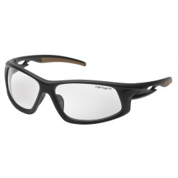 Carhartt - CHB610DTCS - Ironside Anti-Fog, Anti-Static, Scratch-Resistant Safety Glasses, Clear Lens Color