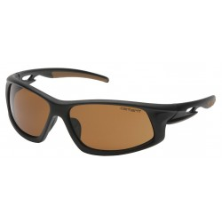 Carhartt - CHB618DTCC - Ironside Anti-Fog, Anti-Static, Scratch-Resistant Safety Glasses, Bronze Lens Color