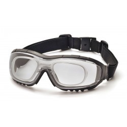 Pyramex - GB8210STRX - Anti-Fog, Anti-Static, Scratch-Resistant Protective Goggles, Clear Lens Color