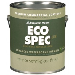 Benjamin moore n3762x001cc985 interior paint semi for Benjamin moore eco spec paint