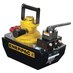"Enerpac - ZA4440MX - 8.1"" Air Powered Air Hydraulic Pump&#x3b; Capacity (PSI): 10, 000"