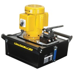 Enerpac - ZE3408MB - Electric Hydraulic Pump with Manual, 4 Way, 3 Position, Tandem Center Control Valve