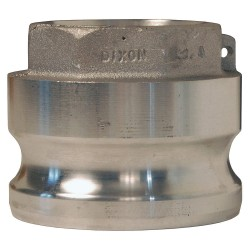 Dixon Valve - 6040-A-AL - Aluminum Adapter, Coupling Type A, Male Adapter x FNPT Connection Type