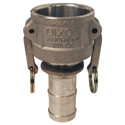 Dixon Valve - 4030-C-AL - Aluminum Coupler, Coupling Type C, Female Coupler x Hose Shank Connection Type