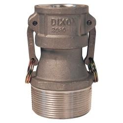 Dixon Valve - 3020-B-AL - Aluminum Coupler, Coupling Type B, Female Coupler x MNPT Connection Type