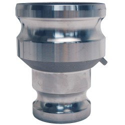 Dixon Valve - 4060-AA-AL - Aluminum Spool Adapter, Coupling Type AA, Male Adapter x Male Adapter Connection Type