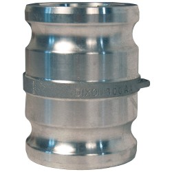 Dixon Valve - 600-AA-AL - Aluminum Spool Adapter, Coupling Type AA, Male Adapter x Male Adapter Connection Type