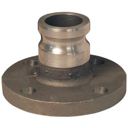 Dixon Valve - 200-AL-AL - Aluminum Flange Adapter, Coupling Type AL, Male Adapter x 150 lb. Flange Connection Type