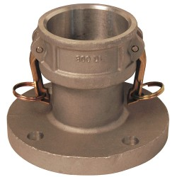 Dixon Valve - 300-DL-AL - Aluminum Flange Coupler, Coupling Type DL, Female Coupler x 150 lb. Flange Connection Type