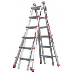 Little Giant - 12026 - Aluminum Multipurpose Ladder, 23 ft. Extended Ladder Height, 300 lb. Load Capacity