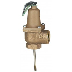 Watts Water Technologies - 1 LF140X6 150/210 - Temperature and Pressure Relief Valve, 3, 085, 000 BtuH, 150 psi, 6 Thermostat Length