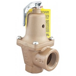 Watts Water Technologies - 1 1/2 740-050 - Iron Safety Relief Valve, FNPT Inlet Type, FNPT Outlet Type