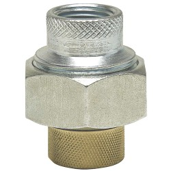 Watts Water Technologies - 1 LF3003 - 1 Lead Free Brass, Steel Dielectric Union with FIP x FIP Fitting Connection Type