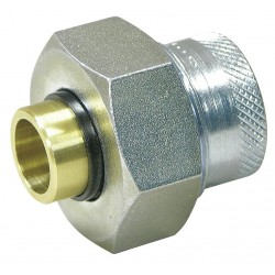 Watts Water Technologies - 1 LF3002 - 1 Copper, Iron Dielectric Union with FIP x Solder Fitting Connection Type