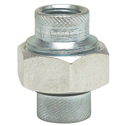 Watts Water Technologies - 1 1/4 LF3004 - 1-1/4 Iron Dielectric Union with FIP x FIP Fitting Connection Type