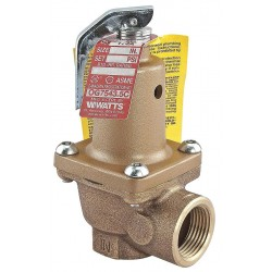 Watts Water Technologies - 1 1/2 174A-150 - Bronze Safety Relief Valve, FNPT Inlet Type, FNPT Outlet Type