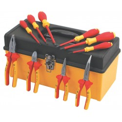 Wiha Quality Tools - 32892 - 10-pc. Insulated Plier &screwdriver Set