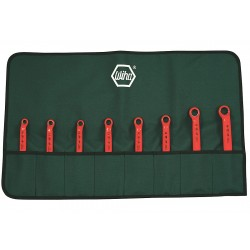 Wiha Quality Tools - 21096 - Insulated Box End Wrench Set, SAE, Number of Pieces: 8, Number of Points: 12, 5/16 to 3/4