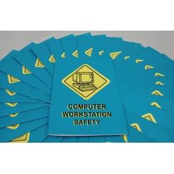 Marcom Group - B0000210em - Computer Workstation Safety Booklet (pack Of 15)