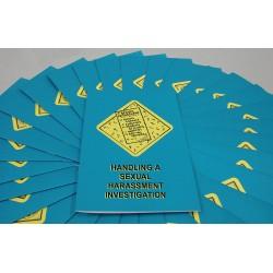 Marcom Group - B0000490em - Sexual Harassment Investigation Booklet (pack Of 15)