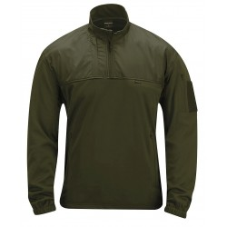 Propper - F54300W330L - Fleece Pullover, L Fits Chest Size 42 to 44, Olive Color