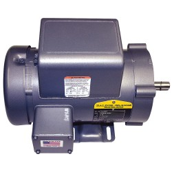 Baldor Electric - EL3503 - 1/2 HP General Purpose Motor, Capacitor-Start, 3450 Nameplate RPM, Voltage 115/230, Frame 56