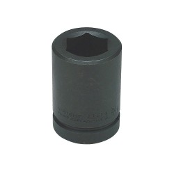 Wright Tool - 8932 - Wright Tool 1' X 1' Black Oxide Forged Alloy Steel 6 Point Deep Impact Socket, ( Each )