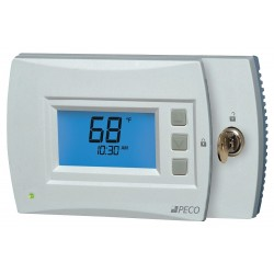 Peco - T4932SCH-002 - Low Voltage Thermostat, Stages Cool 2, Stages Heat 3