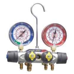 Yellow Jacket / Ritchie Engineering - 49962 - Mechanical Manifold Gauge Set, 4-Valve