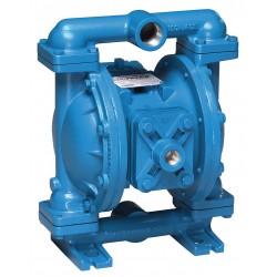 Sandpiper / Warren Rupp - S1FB1I1WANS000 - Cast-Iron Santoprene Single Double Diaphragm Pump, 45 gpm, 125 psi
