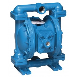 Sandpiper / Warren Rupp - S1FB1I2TANS000 - Cast-Iron PTFE - Santoprene Backup Single Double Diaphragm Pump, 45 gpm, 125 psi