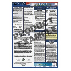JJ Keller - 100-AZ-K - Labor Law Poster Kit, AZ Federal and State Labor Law, English