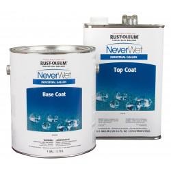 Rust-Oleum - 275636 - Clear Neverwet Base, Flat, Light Haze Finish, 200 - 300 sq. ft./gal. Coverage, Size: 1 gal.