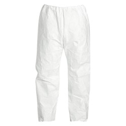 DuPont - TY350SWH5X005000 - Disposable Pants, 5XL, White, Tyvek 400 Material, PK 50