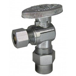 Kissler - AB88-9230 - Chrome Water Supply Stop, CPVC Inlet Type, 125 psi