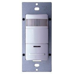 Leviton - ODS10-IQW - Leviton ODS10-IQW Vertical Rack Mount PIR Occupancy Sensor - White